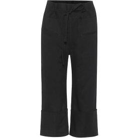 ロエベ Loewe レディース ジーンズ・デニム ボトムス・パンツ【Wide-Leg Jeans】Black