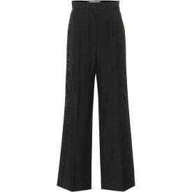 ロエベ Loewe レディース ボトムス・パンツ 【High-Rise Wool Jacquard Pants】Black