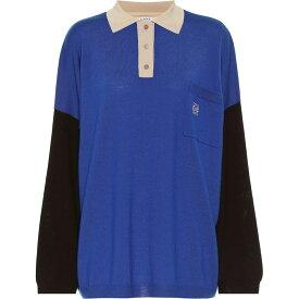 ロエベ Loewe レディース ニット・セーター トップス【Wool Sweater】Blue