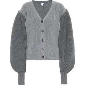ロエベ Loewe レディース カーディガン トップス【Wool Cardigan】Grey