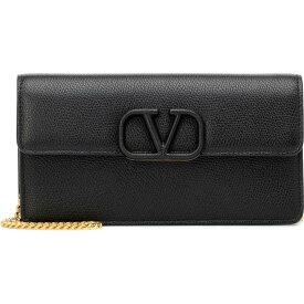 ヴァレンティノ Valentino レディース クラッチバッグ バッグ【Garavani Vsling Small Leather Clutch】Nero