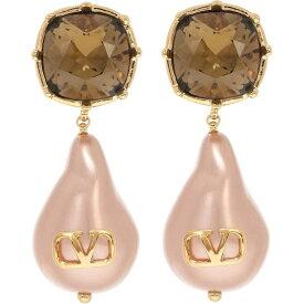 ヴァレンティノ Valentino レディース イヤリング・ピアス ジュエリー・アクセサリー【Garavani Vlogo Bead Pearls And Crystal Earrings】