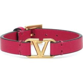 ヴァレンティノ Valentino レディース ブレスレット ジュエリー・アクセサリー【Garavani Vlogo Leather Bracelet】Blossom