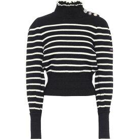 マーク ジェイコブス Marc Jacobs レディース ニット・セーター トップス【X Armor-Lux Striped Virgin Wool Sweater】Navy Multi