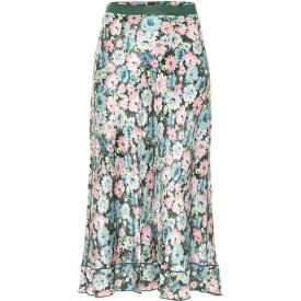 マーク ジェイコブス Marc Jacobs レディース ひざ丈スカート スカート【The '40S Floral Silk Jacquard Midi Skirt】Multi