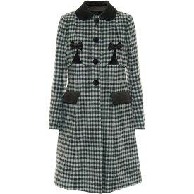 マーク ジェイコブス Marc Jacobs レディース コート アウター【The Sunday Best Wool Coat】Blue