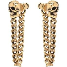 アレキサンダー マックイーン Alexander McQueen レディース イヤリング・ピアス ジュエリー・アクセサリー【Chain-Link Skull Earrings】