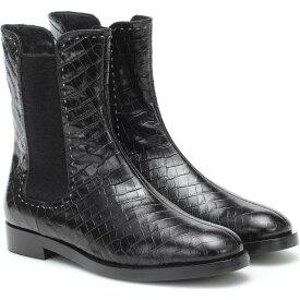 マックスマーラ Max Mara レディース ブーツ ショートブーツ シューズ・靴【Anne Croc-Effect Ankle Boots】