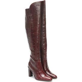 マックスマーラ Max Mara レディース ブーツ シューズ・靴【Beboot Croc-Effect Leather Boots】