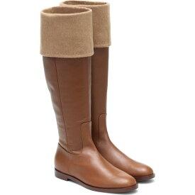 マックスマーラ Max Mara レディース ブーツ シューズ・靴【Brigg Leather Knee-High Boots】