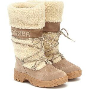 ボグナー Bogner レディース ブーツ シアリング スノーブーツ シューズ・靴【Alta Badia 2 Shearling Snow Boots】Nature