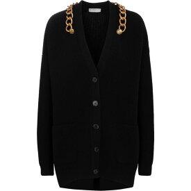 ジバンシー Givenchy レディース カーディガン トップス【wool and cashmere cardigan】Black