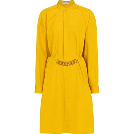 ジバンシー Givenchy レディース ワンピース シャツワンピース ワンピース・ドレス【embellished cotton shirt dress】Golden