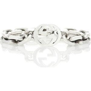 グッチ Gucci レディース ブレスレット ジュエリー・アクセサリー【Interlocking G silver bracelet】