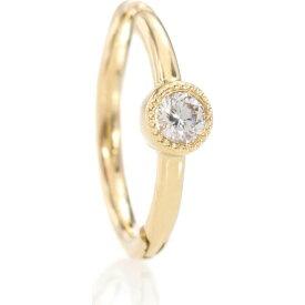 マリアタシュ Maria Tash レディース イヤリング・ピアス ジュエリー・アクセサリー【18kt yellow gold single earring with diamond】