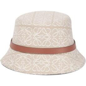 ロエベ LOEWE レディース ハット バケットハット 帽子【Anagram bucket hat】Ecru/Soft White