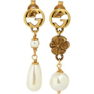 グッチ Gucci レディース イヤリング・ピアス ジュエリー・アクセサリー【GG earrings with faux pearls】