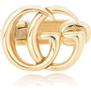 グッチ Gucci レディース イヤリング・ピアス イヤーカフ ジュエリー・アクセサリー【Double G 18kt gold ear cuff】