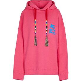 エトロ ETRO レディース パーカー トップス【Oversized cotton hoodie】Pink