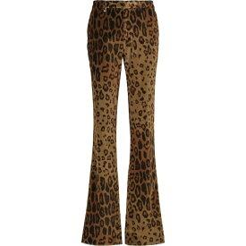 エトロ ETRO レディース ボトムス・パンツ 【Leopard-print straight velvet pants】Beige