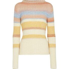 エトロ ETRO レディース ニット・セーター トップス【Striped wool-blend sweater】Multicolor