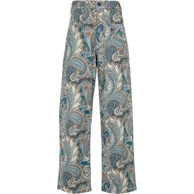 エトロ ETRO レディース ジーンズ・デニム ボトムス・パンツ【Paisley high-rise wide jeans】Azzurro