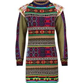 エトロ ETRO レディース ワンピース ワンピース・ドレス【Intarsia wool-blend sweater dress】Multicolor
