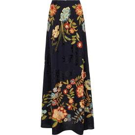 エトロ ETRO レディース ロング・マキシ丈スカート スカート【High-rise floral jacquard maxi skirt】Blu