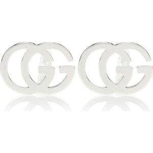 グッチ Gucci レディース イヤリング・ピアス ジュエリー・アクセサリー【GG 18kt white gold earrings】