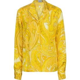 エトロ ETRO レディース ブラウス・シャツ トップス【Paisley silk shirt】Giallo