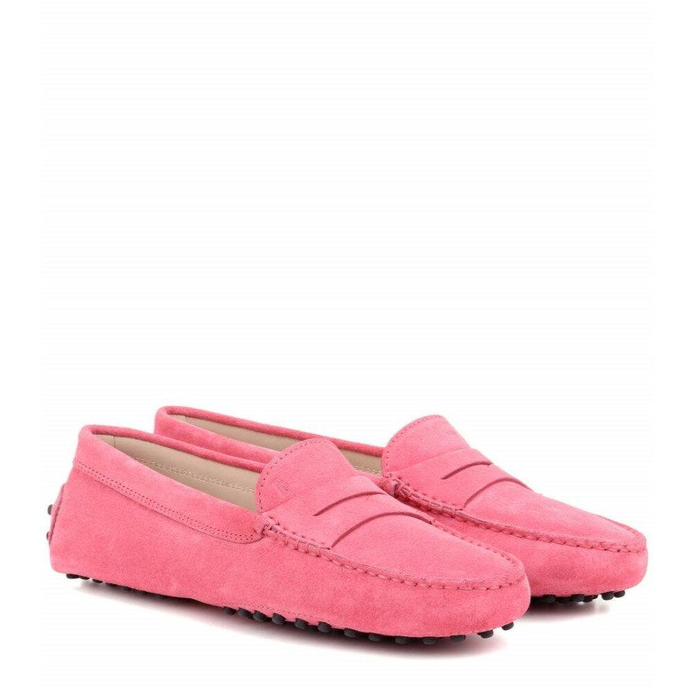 トッズ Tod's レディース シューズ・靴 フラット【Gommini suede loafers】