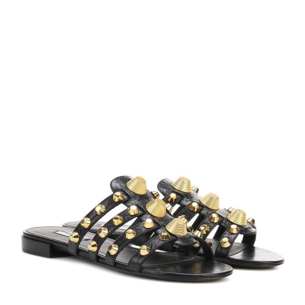 バレンシアガ Balenciaga レディース シューズ・靴 サンダル【Arena leather sandals】