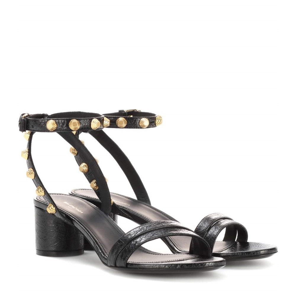 バレンシアガ Balenciaga レディース シューズ・靴 サンダル【Leather sandals】