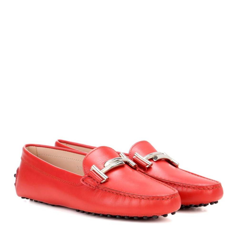 トッズ Tod's レディース シューズ・靴 ローファー【Gommino Double T suede loafers】