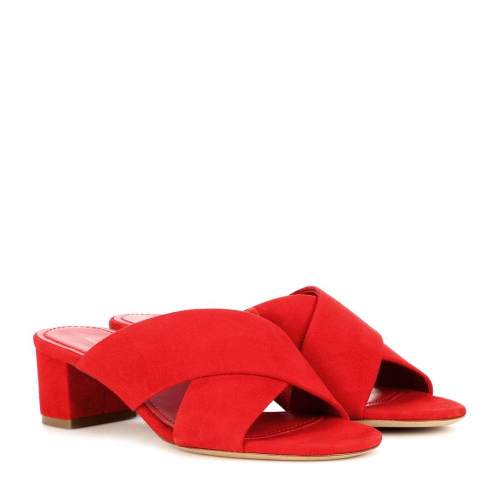 マンサーガブリエル Mansur Gavriel レディース シューズ・靴 サンダル【40mm Crossover suede sandals】
