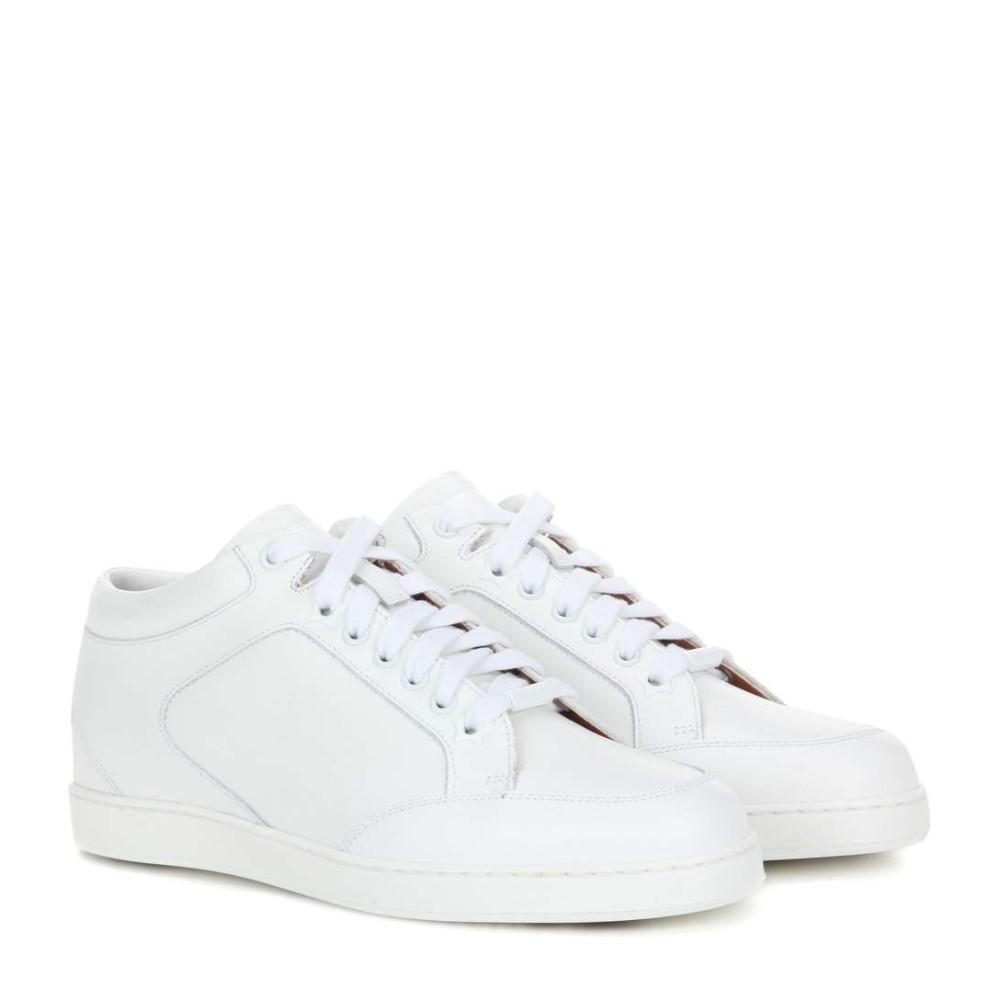 ジミー チュウ Jimmy Choo レディース シューズ・靴 スニーカー【Miami leather sneakers】
