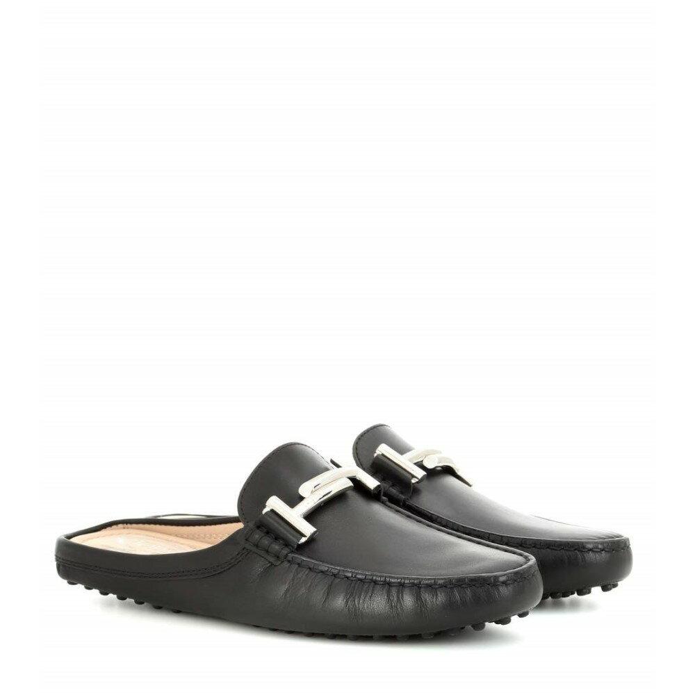 トッズ Tod's レディース シューズ・靴 フラット【Gommini Double T slippers】