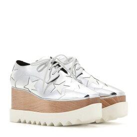 ステラ マッカートニー Stella McCartney レディース シューズ・靴 カジュアルシューズ【Britt metallic platform derby shoes】