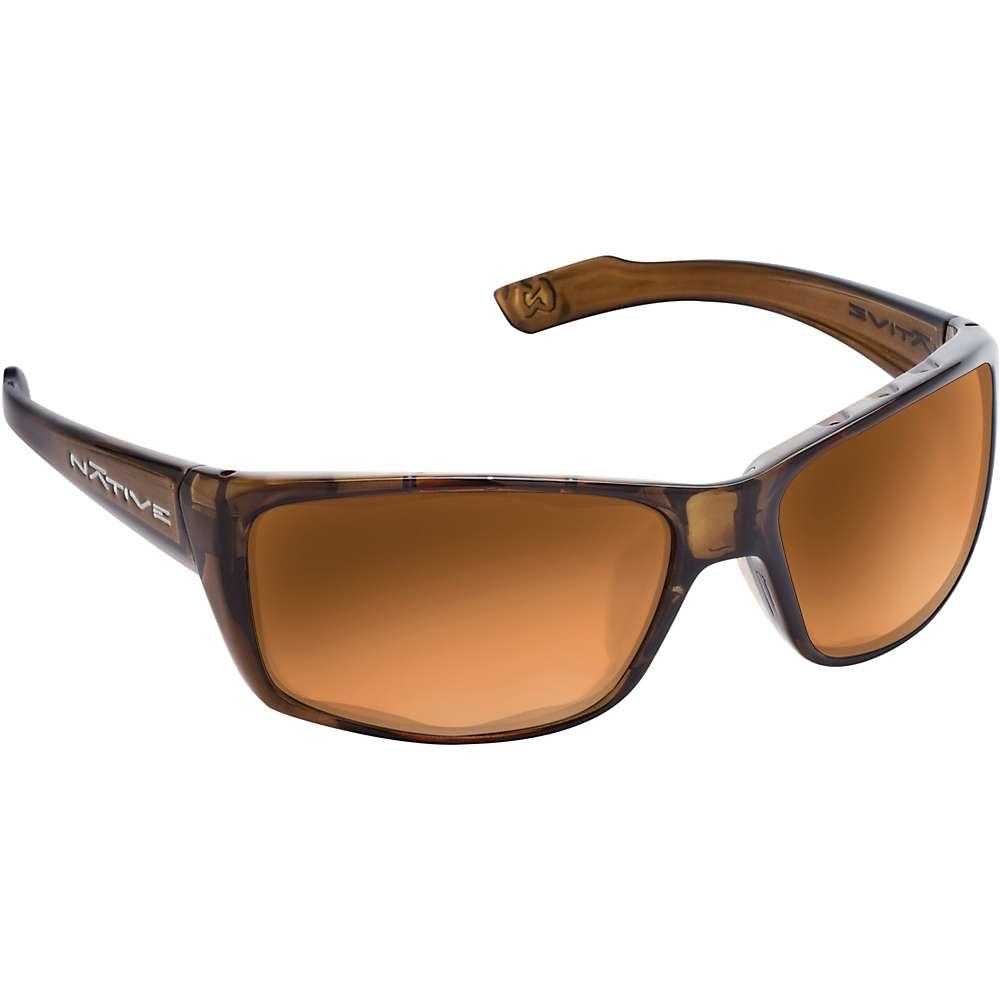 ネイティブ メンズ アクセサリー メガネ・サングラス【Native Wazee Polarized Sunglasses】Moss / Bronze Reflex Polarized