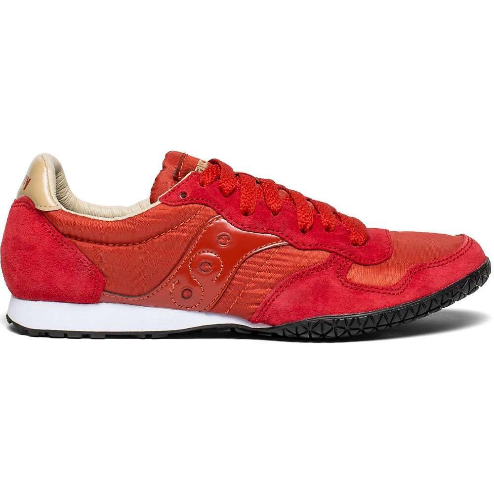 サッカニー Saucony レディース ランニング・ウォーキング シューズ・靴【Bullet Shoe】Red / Tan