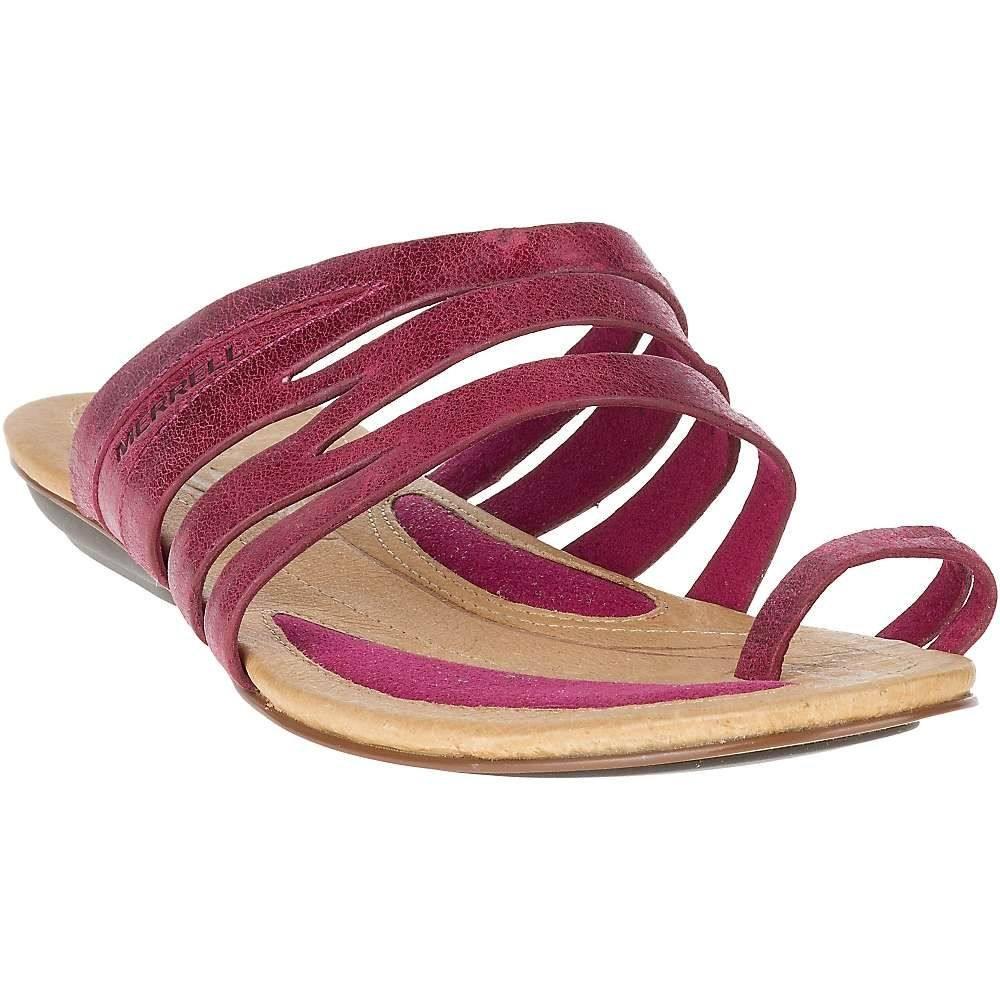 メレル Merrell レディース シューズ・靴 サンダル・ミュール【Solstice Slice Sandal】Beet Red
