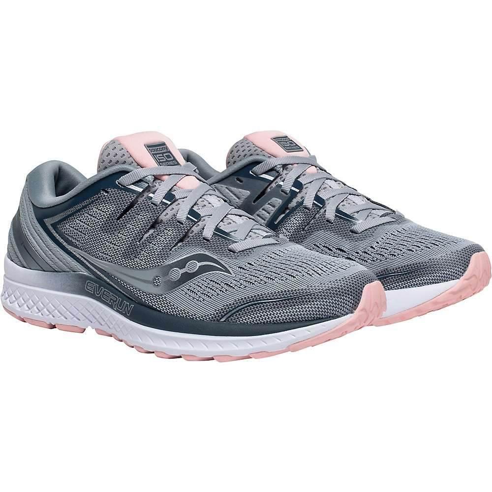 サッカニー Saucony レディース ランニング・ウォーキング シューズ・靴【Guide ISO 2 Shoe】Grey/Blue