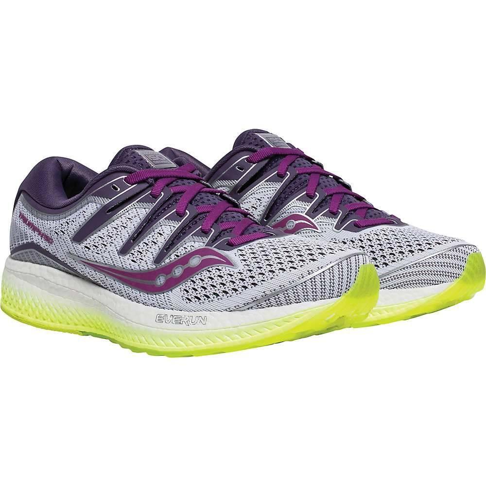 サッカニー Saucony レディース ランニング・ウォーキング シューズ・靴【Triump ISO 5 Shoe】White/Purple/CTN
