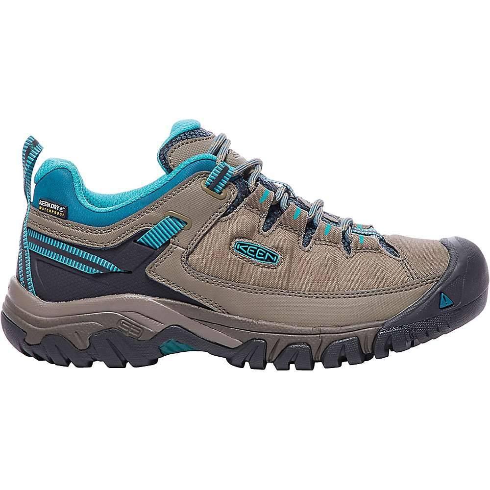 キーン Keen レディース ランニング・ウォーキング シューズ・靴【Targhee Exp Waterproof Shoe】Brindle / Blue Coral