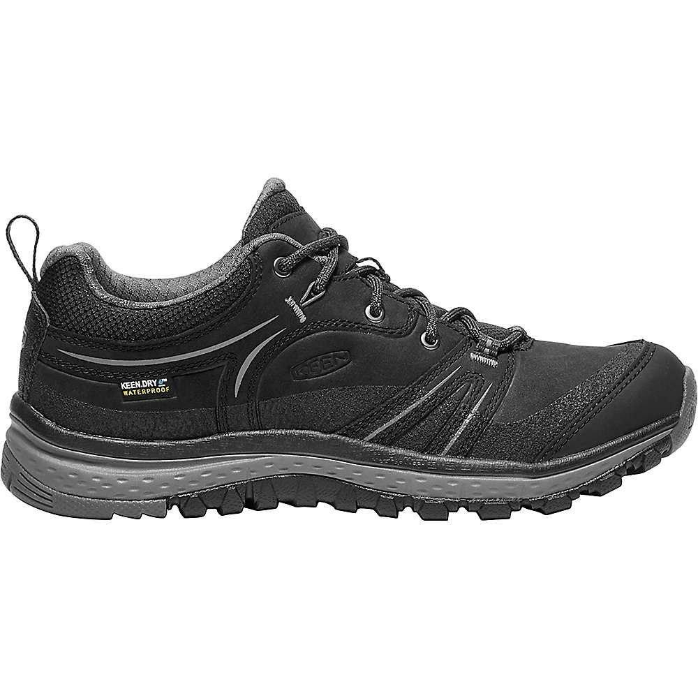 キーン Keen レディース ランニング・ウォーキング シューズ・靴【Terradora Leather Waterproof Shoe】Black / Steel Grey