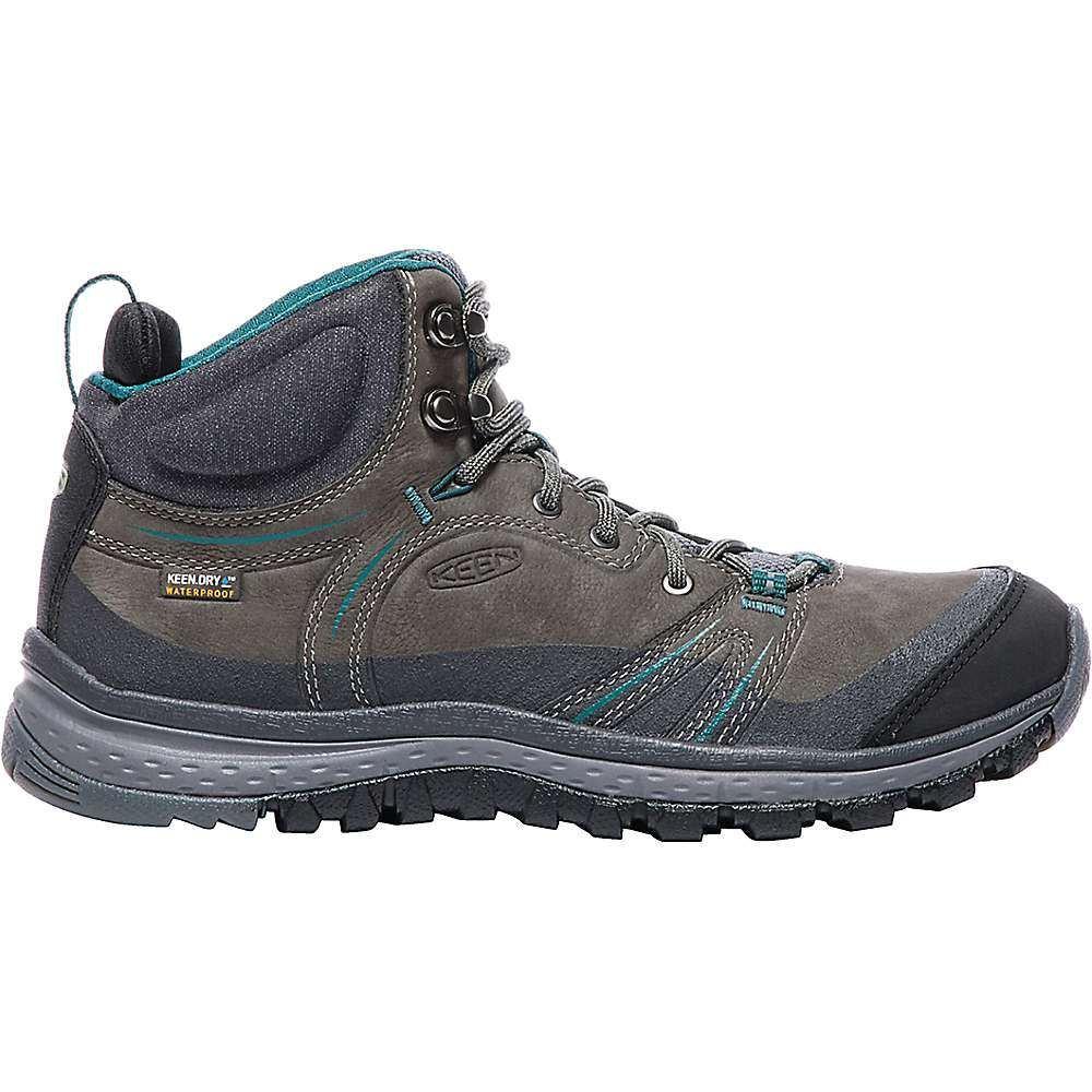 キーン Keen レディース ランニング・ウォーキング シューズ・靴【Terradora Leather Mid Waterproof Shoe】Mushroom / Magnet