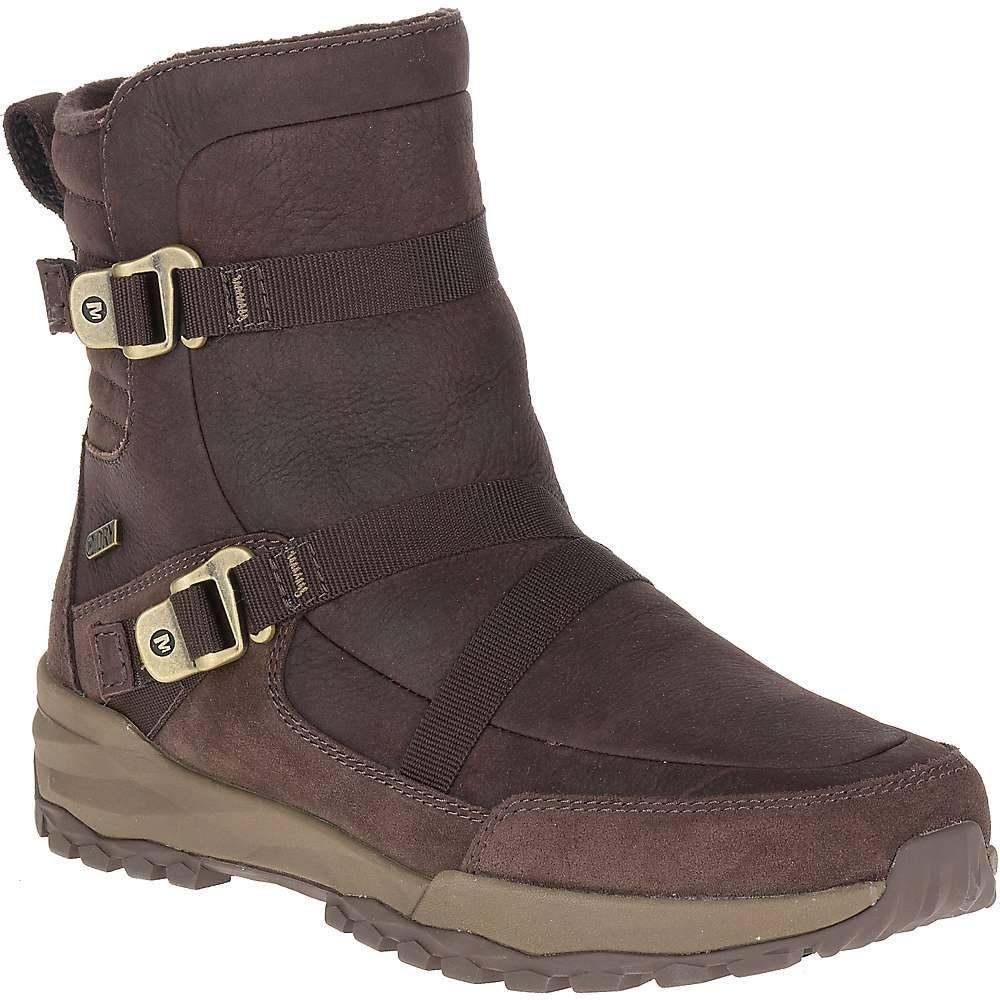 メレル Merrell レディース シューズ・靴 ブーツ【Icepack 8IN Mid Zip Polar Waterproof Boot】Espresso