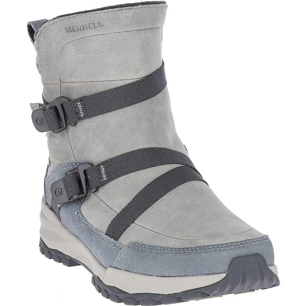 メレル Merrell レディース シューズ・靴 ブーツ【Icepack 8IN Mid Zip Polar Waterproof Boot】Monument