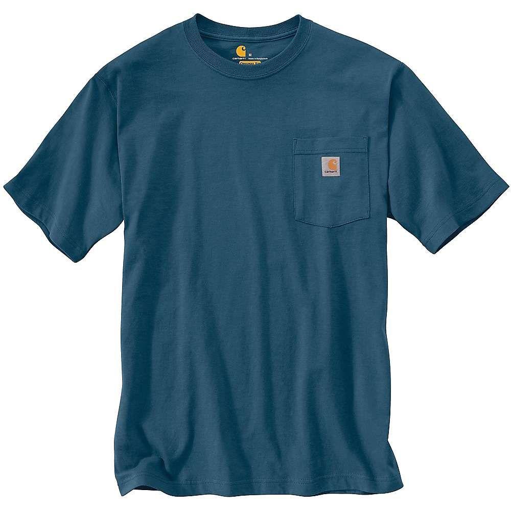 カーハート Carhartt メンズ トップス Tシャツ【Workwear Pocket SS T Shirt】Stream Blue