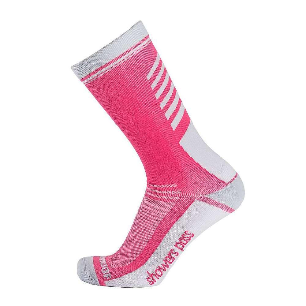 シャワーズ パス Showers Pass メンズ インナー・下着 ソックス【Crosspoint Lightweight WP Crew Sock】Pink